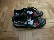 Basket Graphic X Shantell Martin Black Leather Trainers - Size 39