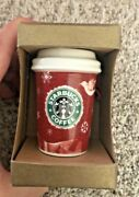 2008 Starbucks Holiday Ornament - Dove Hot Cup