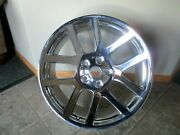 Used 04-06 Dodge Viper Pick Up One Chrome Wheel 22x10jx25.4