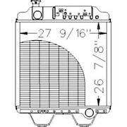 211031 Fits New Holland Tractor Radiator - 26 7/8 X 27 1/2 X 2 Fits Ford