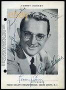 Frank Sinatra - Tommy Dorsey And More Signed Meadowbrook Cedar Grove Nj Autograph