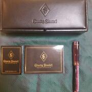 Conway Stewart Fountain Pen Wellington [very Beautiful] F / S From Japan