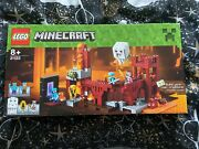 Lego Minecraft The Nether Fortress 21122 - New And Sealed - Retired Set - Rare