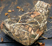 Yamaha Grizzly 660 Seat Cover Max-4 Camo Rt/ca Fits All Years