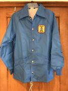 Vintage Pinch Scotch Whisky Jacket 12 Years Old Haig -rare Size S Made In Usa