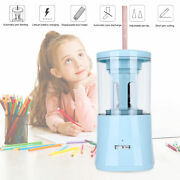Electric Battery Operated Pencil Sharpener School Office Portable Classroom Blue