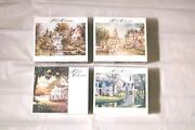 Lot Of 4 Brand New Sealed 750 Jigsaw Puzzle The Puzzle Collection Angel Falls...