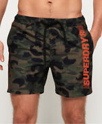 Superdry Mens State Volley Swim Shorts
