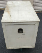 Large,vintage,solid Wood,tack Box,storage Trunk,hope Chest,toy Box,tack Trunk