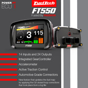 Fueltech Ft550 Efi Ecu Dashboard Datalogger With Harness