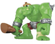 Fisher-price Imaginext Dragon World Castle And Ogre 10 2012 Rare Works