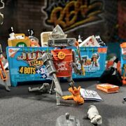 Hexbug® Junkbots™ Industrial Dumpster Contains 4 Bots + Energy And Motion Modules