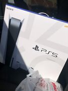 In Hand Playstation 5 Disc Ed✅ Ps5 White Console System Ready Ship✅ Asap Htf