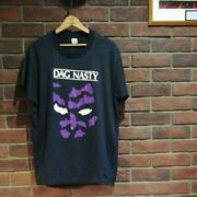 Vintage Unused 80and039s 90and039s Dagnasty T-shirt L Black Screen Stars Dead Stock Rare O