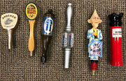 Collectible Beer Taps - Pabst Point Andeker And More - Six Total Taps