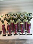 Girl Scout Award Trophy Lot Of 10 12 Tall Free Ship 2-3 Day Priority Mail