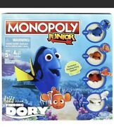 Monopoly Junior Disney/pixar Finding Dory Edition Exclusive Factory Sealed