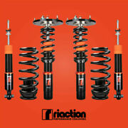 Riaction Coilovers For 12-18 Bmw 3-series F30 32 Way Adjustable Coilovers
