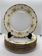 Antique Aladdin China Wembley Made In Occupied Japan 8-10 Dinner Plates