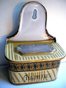 French Old Box Matches, Enamelled Sheet Allumettes