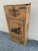 Nos Craftsman Lawn Garden Tractor Sunshade Canopy Made In U.s.a.