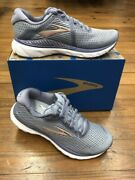 Brooks Womens Gts Adrenaline 20 Multiple Sizes In Grey/peach Free Shipping