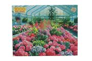 Golden Guild 1000 Piece Jigsaw Puzzle Conservatory Flowers 21 X 27 New