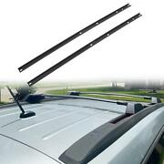 Fit 2009-2017 Chevrolet Traverse Roof Rack Side Cross Bar Rail Luggage Cargo