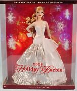 2008 Barbie Holiday Doll A Christmas Carol L9643 Celebrating From Japan Mint 6h