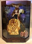 Belle Limited Edition Doll Disney Designer Collection Midnight Masquerade