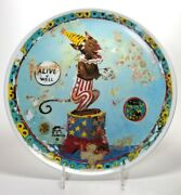 1996 Michael Ray Charles Signed Plate Swid Powell - The Side Dish - 162/250