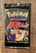 Pokemon 1st Edition Team Rocket Booster Pack English First Giovanni Charizard