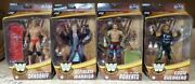 Lot Of Mattel Wwe Elite Legends Series 8 Complete Set Of 4 Sealed And In Hand