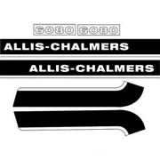 Ac6080 Hood Decal Set Fits Allis Chalmers Tractor 6080