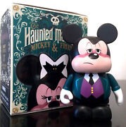 Disney Vinylmation 3 Haunted Mansion Mickey Mouse And Friends Butler Halloween