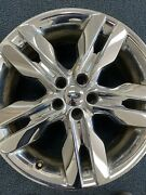 20 Ford Edge 2011-2014 Oem Chrome Clad Edge Wheel And Center Cap 3847 Alloy Rim