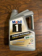 Mobil 1 Extended Performance Full Synthetic Engine Oil 10w30 5 Quart Jug