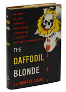 The Daffodil Blonde By Frances Crane First Edition 1950 Mystery 1st