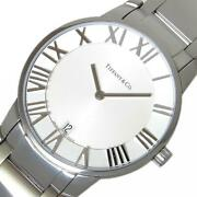 And Co Atlas Dome Z1800.11.10a21a00a Menand039s Silver Dial From Japan [e1120]