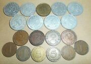 German Wwii Wehrmacht - A Grouping Of German Coins 1937 - 1940 Great Condition