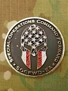 Rare Us Special Operations Command Forward East Africa Challenge Coin