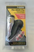 New Hard-to-find Husky Nack Pro Industrial Metal Utility Knife With Holster