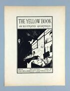 Beardsley Aubrey The Yellow Book A Single Proof Leaf For Cover April 15th 1894
