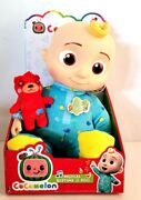 New Cocomelon Roto Jj Doll Bedtime Soft 10 Plush Sing Toy Youtube