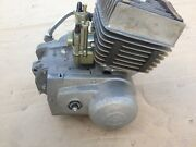 Engine Minsk Motorcycle Минск. 125 Cc. Two Stroke Engine. For Nut
