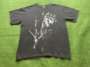 Vtg 2007 Rob Zombie Halloween Michael Myers All Over Print Shirt Double Side M