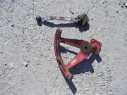 Ford 881 800 Tractor Original 3pt Hitch Control Lever And Mounting Bracket