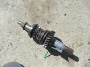 Ford 881 800 Select O Speed Tractor Original Worn Input Shaft W/ Gear And Bearing