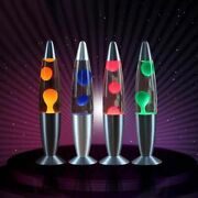 Lava Lamp Night Light Bedside Decorative Incandescent Aluminum Alloy For Gifts