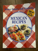 Vintage 1988 Better Homes And Gardens Mexican Recipes Cookbook Cook Book
